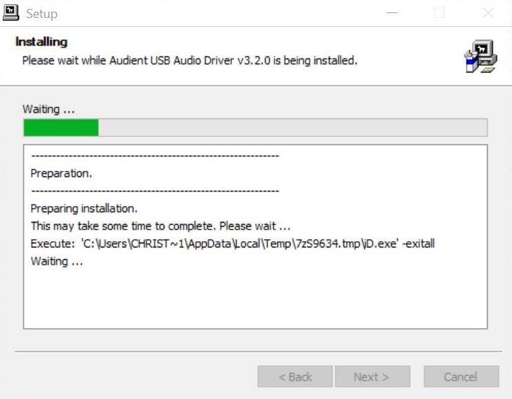 FAQ - My Windows Installer Is Getting Stuck – Audient Help Desk
