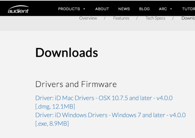 How to install the new iD drivers – Audient Help Desk